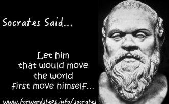 Socrates Said Quotation Image