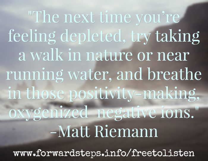 Feeling depleted Quote Image