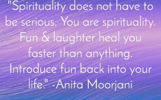 Spirituality is fun quotation image 700px