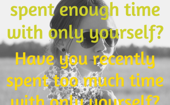 Time With Yourself quotation image