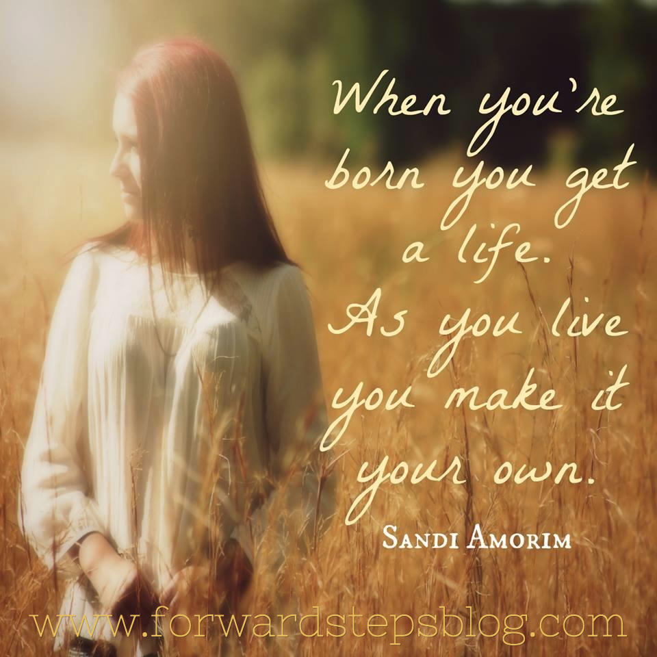 Make Your Own Life Quote Image